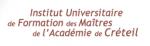 BTS IRIS - Informatique et Réseaux pour l'Industrie et les Services Techniques IUFM de Créteil Val-de-Marne (UPEC)