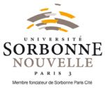 Logo Université Sorbonne Nouvelle - Paris 3