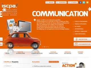 Site ISCPA Paris