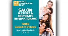 Salon Masters & Doctorats Internationaux QS World Grad School Tour Paris